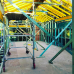 Timber wall and roof framing