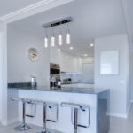 beautiful combination of materials in kitchen renovation